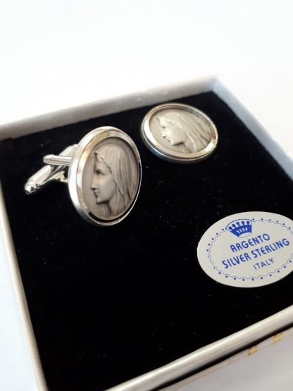 Hand made Nickle Silver Cuff Links