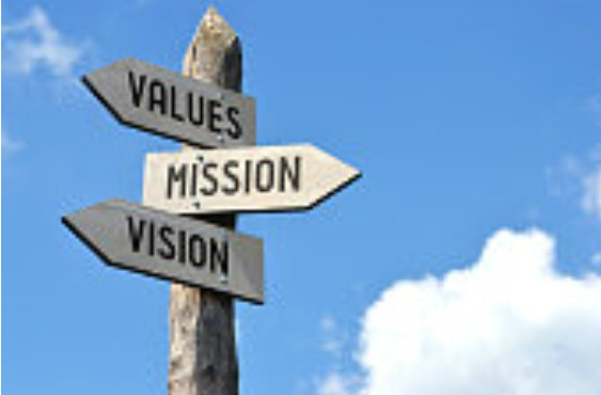 Our mission, values and vision