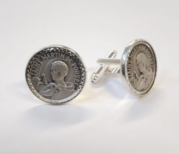 Saint Martin Sterling Silver Cufflinks