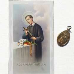Saint Gerard is the patron saint of pregnancy, fertility and Motherhood