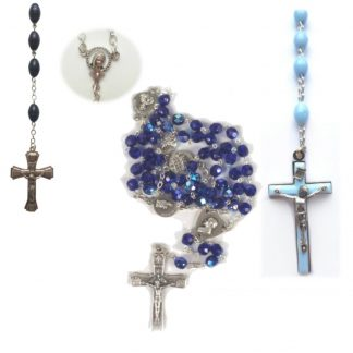 Blue Rosaries