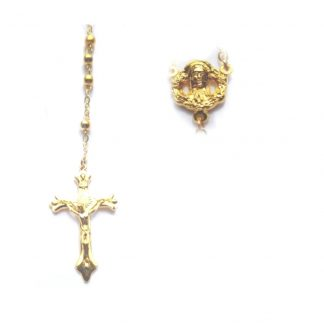 Gold Rosaries
