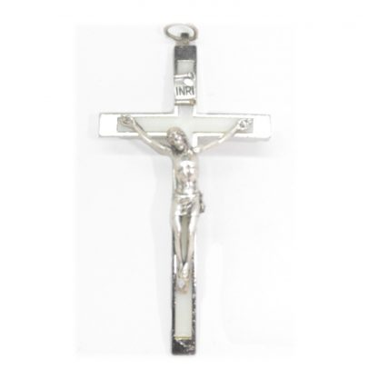"Small Luminous Crucifix approx 4"" x 2.5"" (10.5cm x 5.5cm)"
