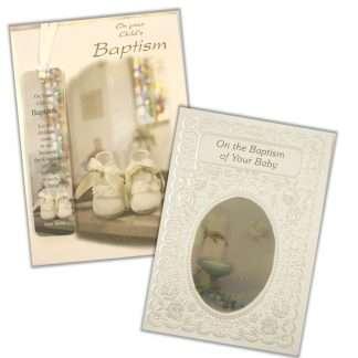 Baptisim Cards