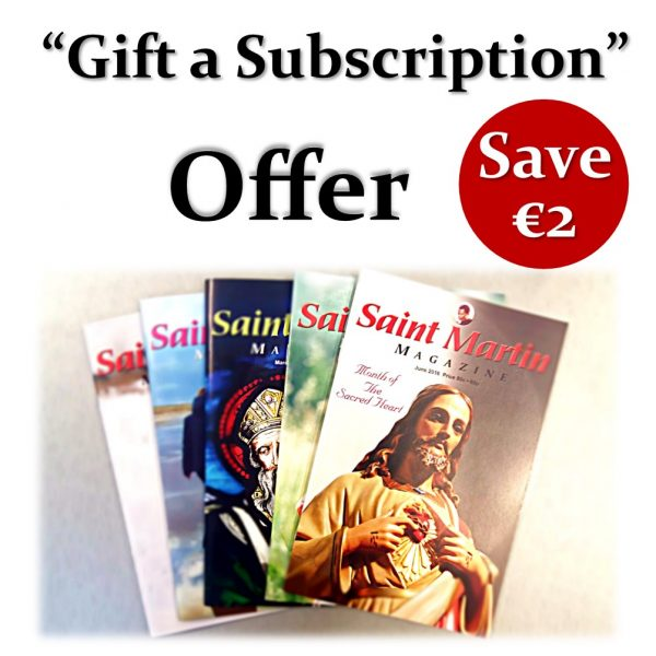 Gift Subscription Offer Save€2