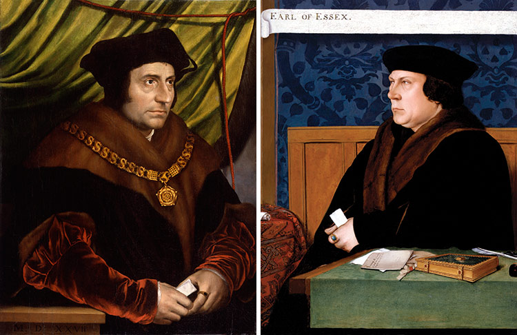 Saint Thomas More and Sir Thomas Cromwell