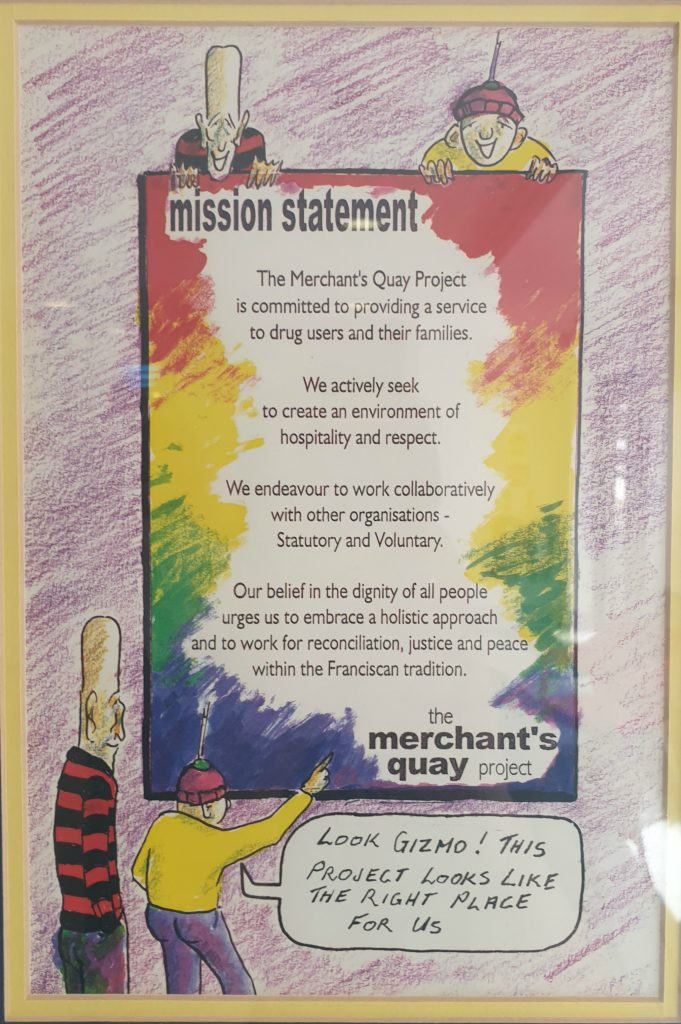 Merchants Quay Ireland Mission Statement