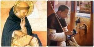 St Dominic Guzman and St Martin (1)