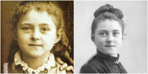 St Therese young- portraits