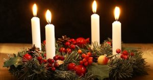 Advent wreath- Candles