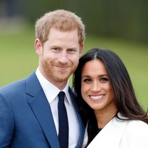 Price Harry & Meghan- smiling