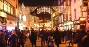 xmas shopping-Dublin