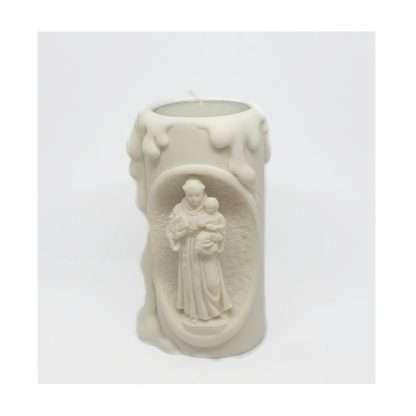 St Anthony Resin Tea light Holder