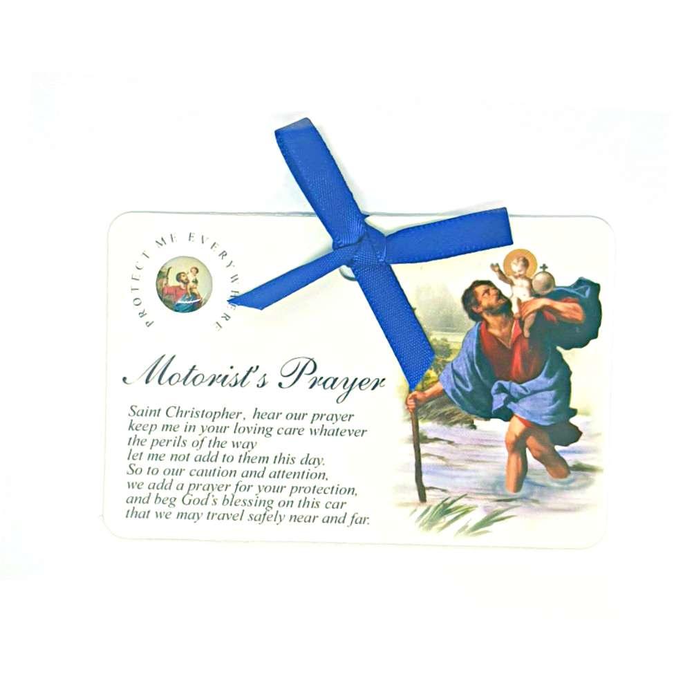 St Christopher Motorists Prayer