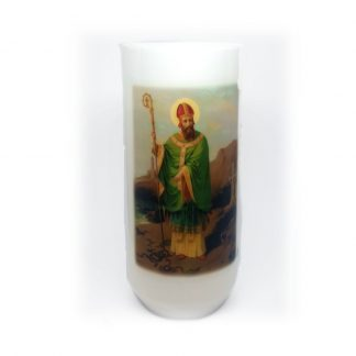 Tall St Patrick Candle