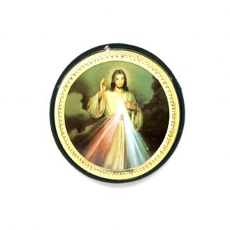 Divine Mercy Vehicle Plaque