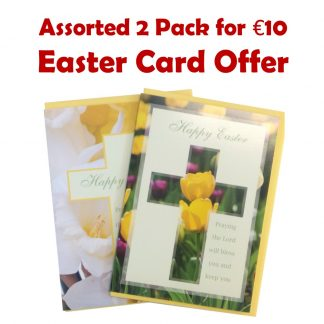 Assorted 2 pack for €10 easter offer