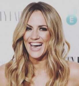 Caroline Flack- Smiling
