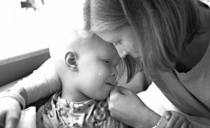 Dealing with cancer- mother and child