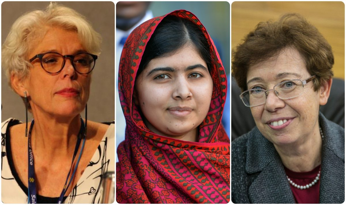 Influential Women- Cristiane, Malala and Francesca