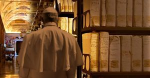 The Vatican- archive room