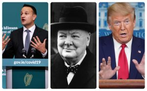 Leaders- Leo, Churchill & Trump