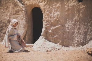 Mary Magdalene-Empty Tomb
