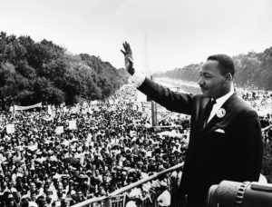 Martin Luther King jr-at march on Washington