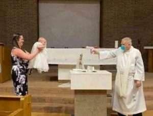 Fr Steve Klasek- Water gun