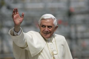 Pope Benedict-smiling & waving