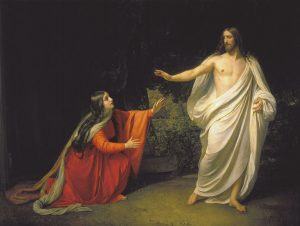 Mary Magdalene with Christ