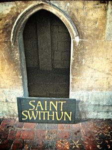 St Swithun's Holy Hole-Tomb