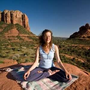 New age spirituality- yoga & meditation
