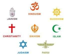 Religions across the world