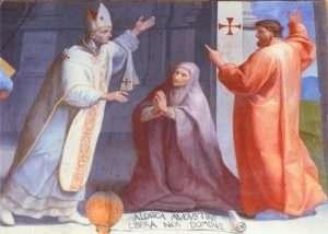 St Augistine, St Monica & St Ambrose