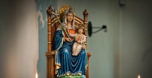 Our Lady shrine