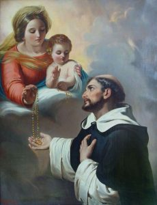 Saint-Dominic-de-Guzman and The Rosary