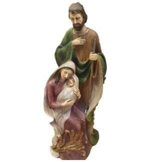 """Holy Family Statue - 32cm High (13"""") – Light Resin"""