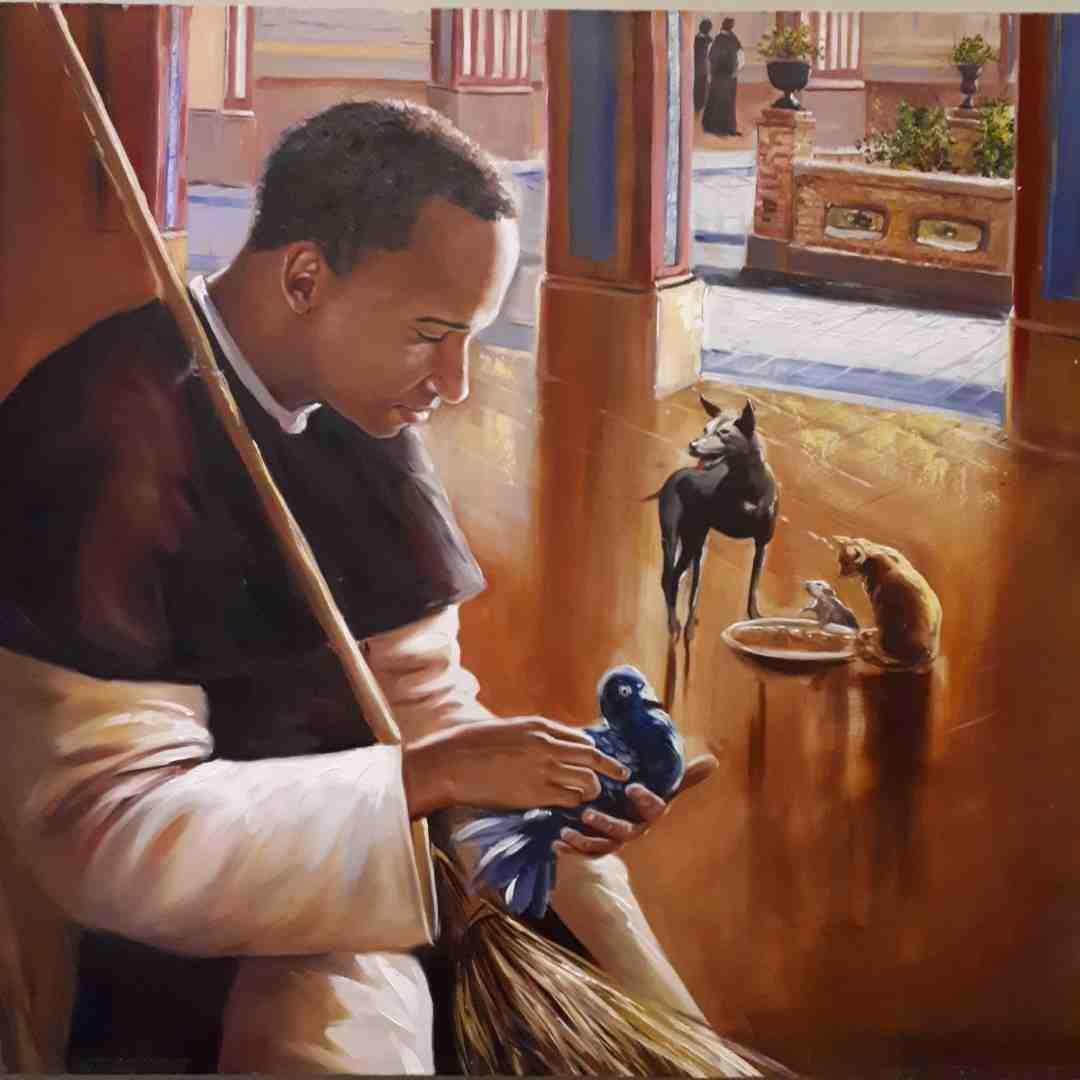 St Martin de Porres chores