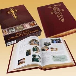 Beautiful Family Bible De-Luxe/Gift Boxed - Burgundy (4497)