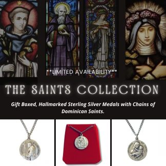 Saints Collection - Sterling Silver Medals & Chains
