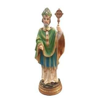 "St Patrick Renaissance Statue - Approx 8"" high"